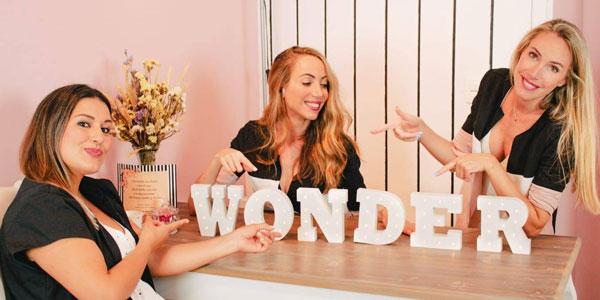 Chicas de Miradas Wonder